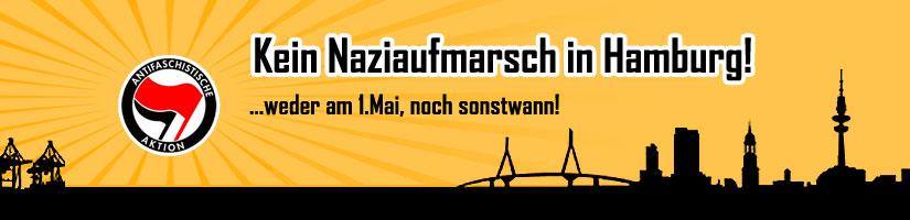 1.Mai 2008 Hamburg - Nazis langmachen!